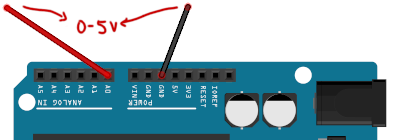 Arduino - Direct Measure Voltage