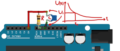 Arduino - Capacitance Measuring